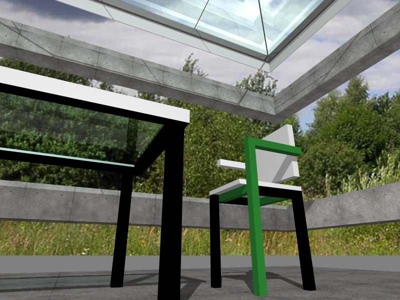 doric salon green  tablea