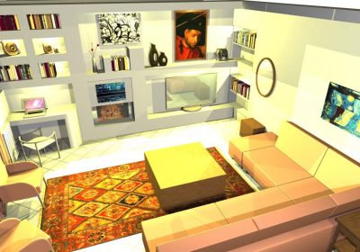 Interior Concept Design Living Room